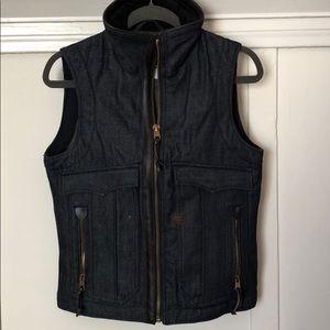 Men's G-Star Oregon Vest Raw Denim size S